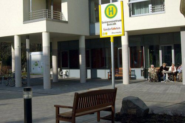 Fake Bus Stop in Germany for Alzheimer Patients