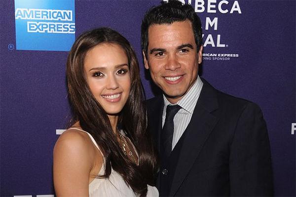 Jessica Alba With Husband Cash Warren