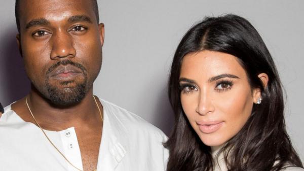 Kim Kardashian with Husband Kayne West