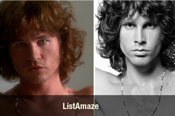 Val Lilmer as Jim Morrison
