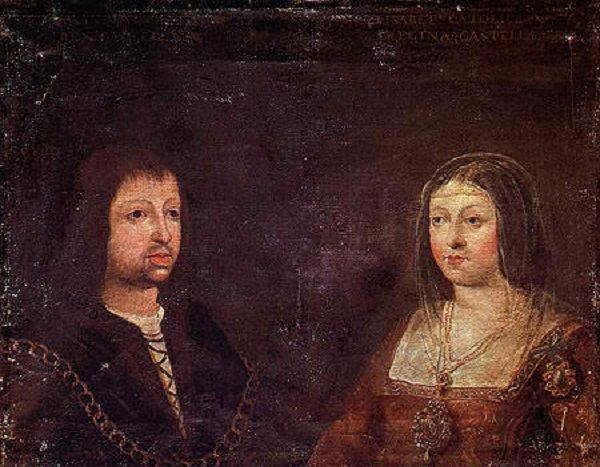 Isabella I of Castile and Ferdinand II of Aragon