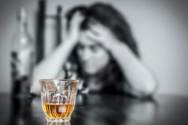 Alcohol addict