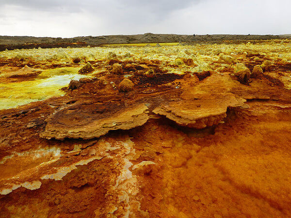 Dallol in Ethiopia