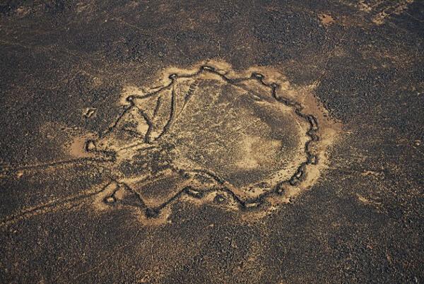 Desert Kites or Works of the Old Men