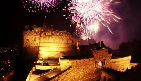 Edinburgh During New Year