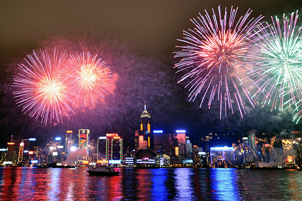 Hong Kong in New Year