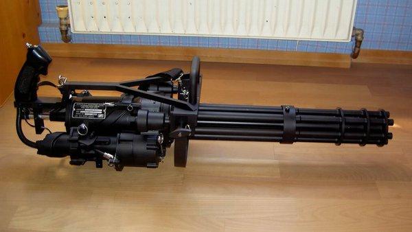 M134 Machine Gun