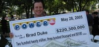 Brad Duke Lottery Winner