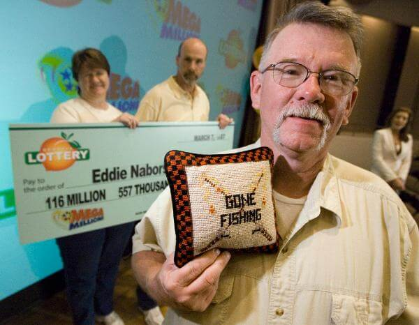 Eddie Nabors Lottery Winner