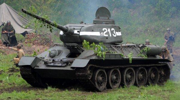 T 34 Tank