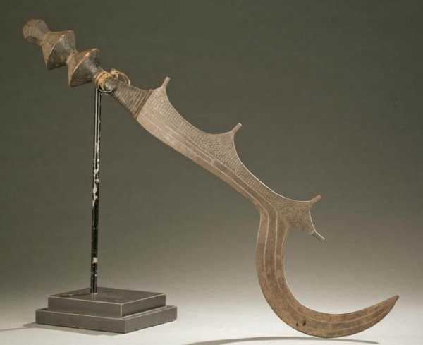 The Ngombe Executiones Sword
