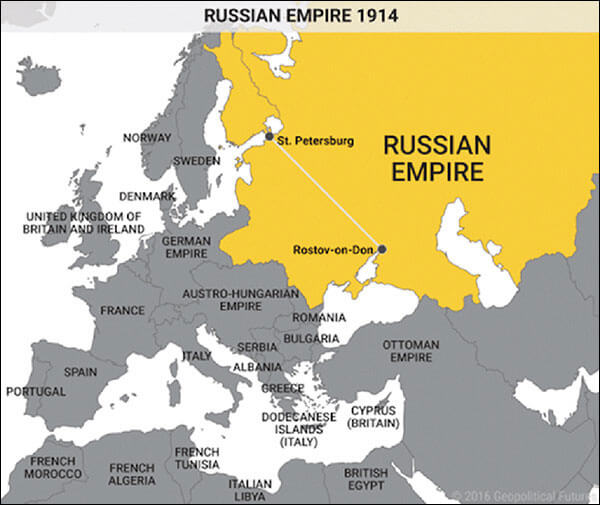 The in the russian empire since agree