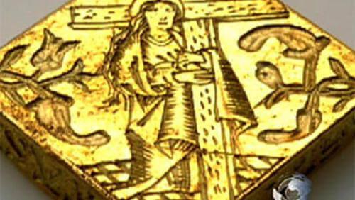 16th Century Gold Pendant Found By a 3-yr Old Boy