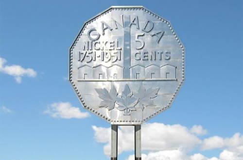 Canadian nickel in Sudbury