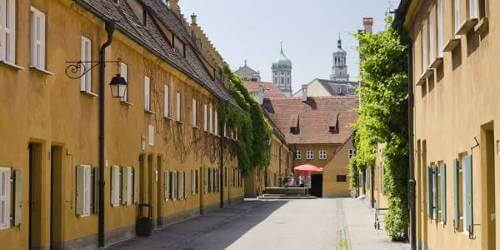 Fuggerei is a German Village Where Rent Hasn't Raised since 1520