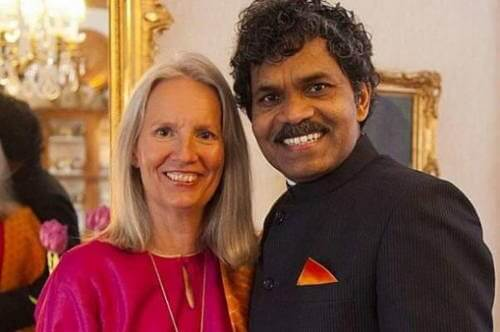 Indian man traveled from India to Sweden on a bicycle