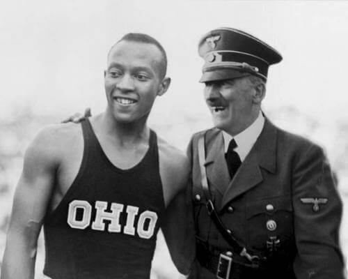 Jesse Owens Honored by Hitler
