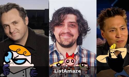 Johnny Bravo, Powerpuff Girls and Dexter's Laboratory Creators
