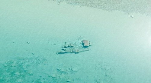 Lake Michigan Gets Clear to View Shipwrecks