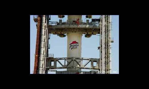 Pizza Hut Delivered to Space Station Once