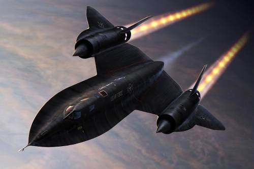 SR-71 Blackbird once flew from LA to Washington DC in 64 minutes