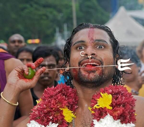 Tongue Piercing Ritual