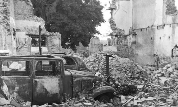 Oradour-sur-Glane in France