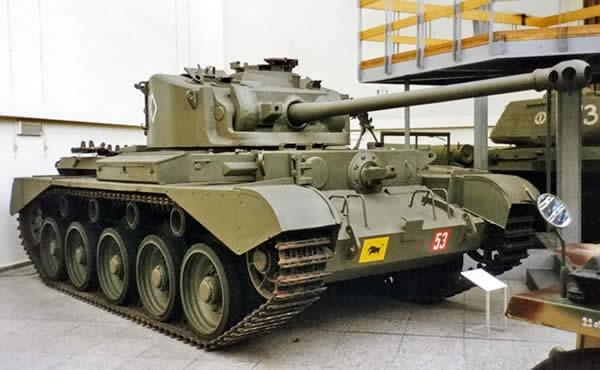 British Comet Tank