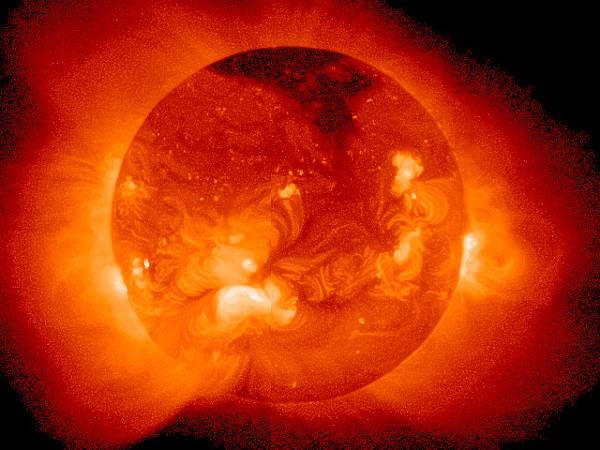 Sun Produces Energy Equal to 10 Billion Nuclear Bombs