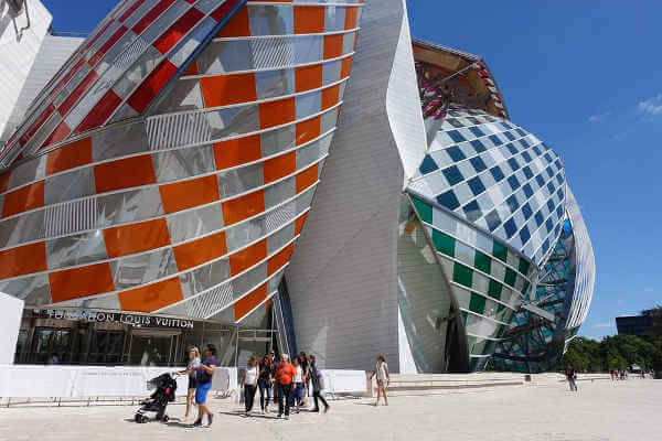 The Louis Vuitton foundation museum